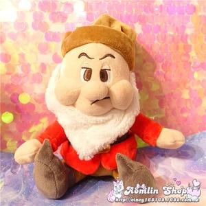 Image 4 - Seven Dwarfs Plush Dolls 25cm 10 Happy Sleepy Sneezy Dopey Grumpy Bashful Girls Toys Gifts