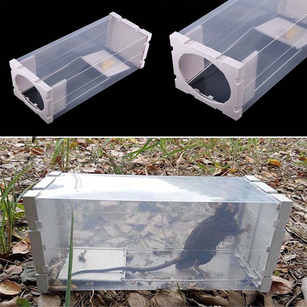 Garden Humane Rat Trap Cage Animal Pest Rodent Mice Mouse Bait Catch Capture Home Rat Trap