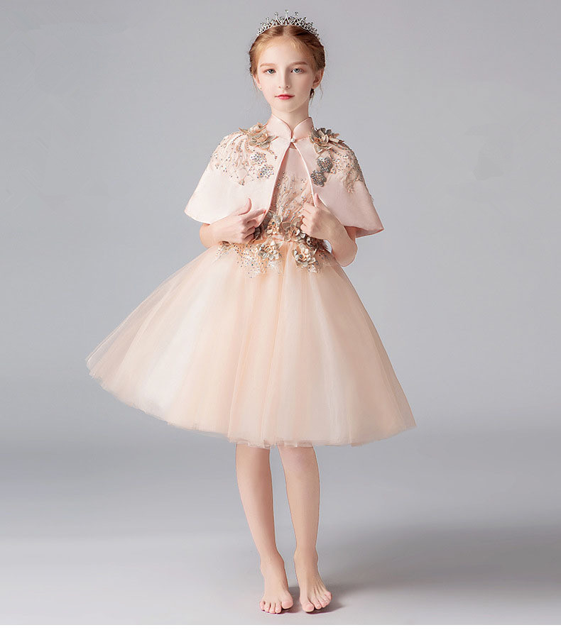 2019 summer infant Baby Girl Dress Lace Dresses for Girls birthday party wedding baby clothing