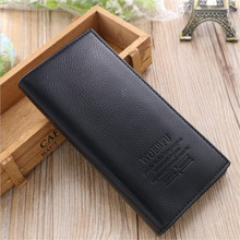 2016 new men wallets Fashion Business luxury PU leather wallet Hand Bags For Men Purse D1052-7