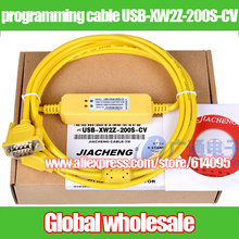 1 шт. Кабель для программирования PLC омрон CS Приглашаем посетить наших заказчиков выставку CJ/кабель для скачивания данных USB-XW2Z-200S-CV/CQM1 CPM1 CPM1A 2A C200HE HG электронных компонентов HX HS