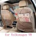 Para volkswagen vw golf 4 5 passat b5 b6 jetta polo asiento de coche cubre protector de bebé Patea esteras accesorios interiores del coche a prueba de agua