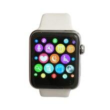 Smartwatch iwo verbesserte 2nd generation mtk2502c 42mm bluetooth smart watch schrittzähler herzfrequenz ekg tester für android iphone