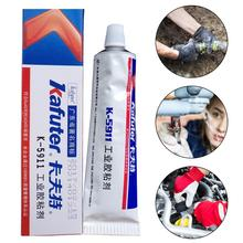 100g Automotive Headlight Sealant High Temperature Resistance Glue Electronic Components Plastic Glue Sealant Car Accessory genuine 100g kafuter k 1668 industrial electronic components fixed adhesives yellow