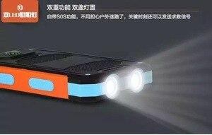 Image 5 - LiitoKala Lii D007 Draagbare Zonne energie Bank 20000 mah Voor Xiaomi 2 Iphone Externe Batterij Powerbank Waterdichte Dual USB