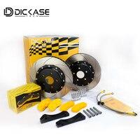 Автозапчасти тормоза DICASE 355 мм изогнутые канавки тормозной диск для CP 9040 тормозной суппорт Подходит для BMW F30 335i n55 225KW