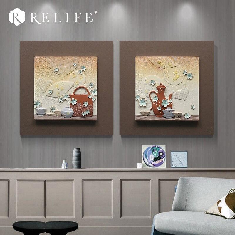 Sans cadre mémoire peinture murale à la main décor à la maison mur Art photos pour salon