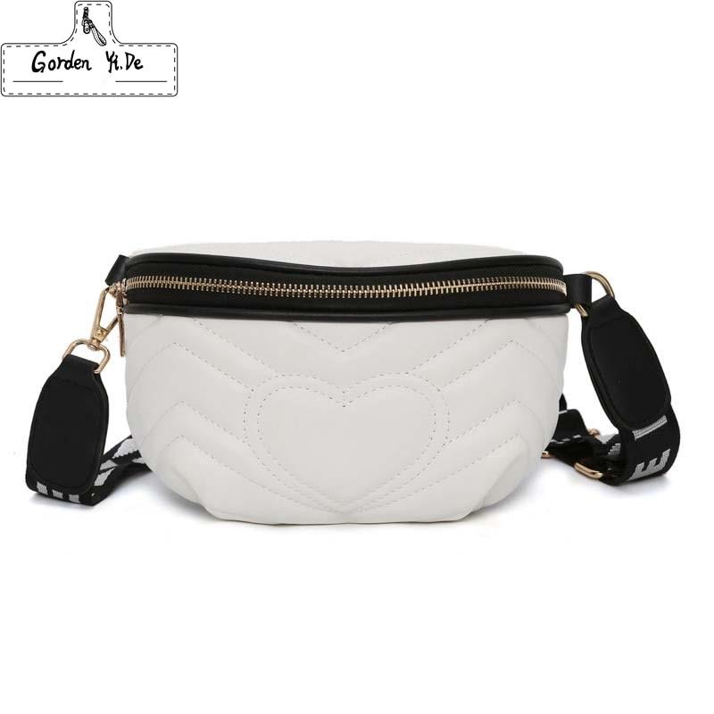 Waist Bag Female 2019 New Fanny Packs Lady's Belt Bags Women's Famous Brand Chest Handbag Shoulder Bag Purse Sac De Taille