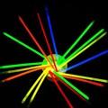 100 шт. 8 цветов Палке жара Свет Браслеты Ожерелье День Рождения Праздничные Партия Вокальный Концерт Олимпийские Игры Поставки Освещения