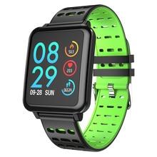 Купить с кэшбэком 2019 Smart watch IP67 waterproof Bluetooth Activity Fitness tracker Heart rate monitor Pedometer Smart Band Men women smartwatch