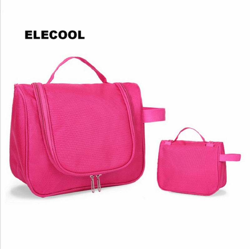 ELECOOL Oxford cloth Travel Cosmetic Bag Waterproof Multifun