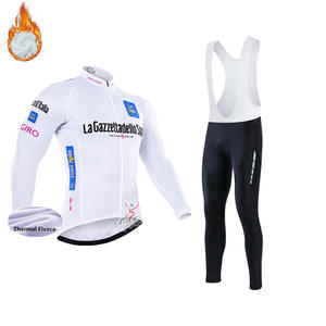 1a6113015 pro cycling jersey Long-sleeved bicycle Jersey set Tour de France winter  cycling