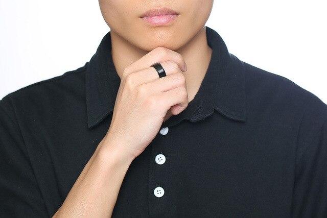 Купить рекомендуемый модный мужской спиннер из нержавеющей стали черного картинки