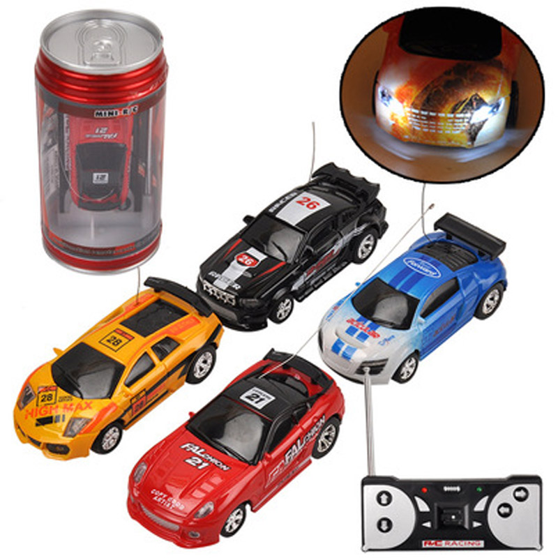 Car in ring-pull can Remote control car toys Gift for Children