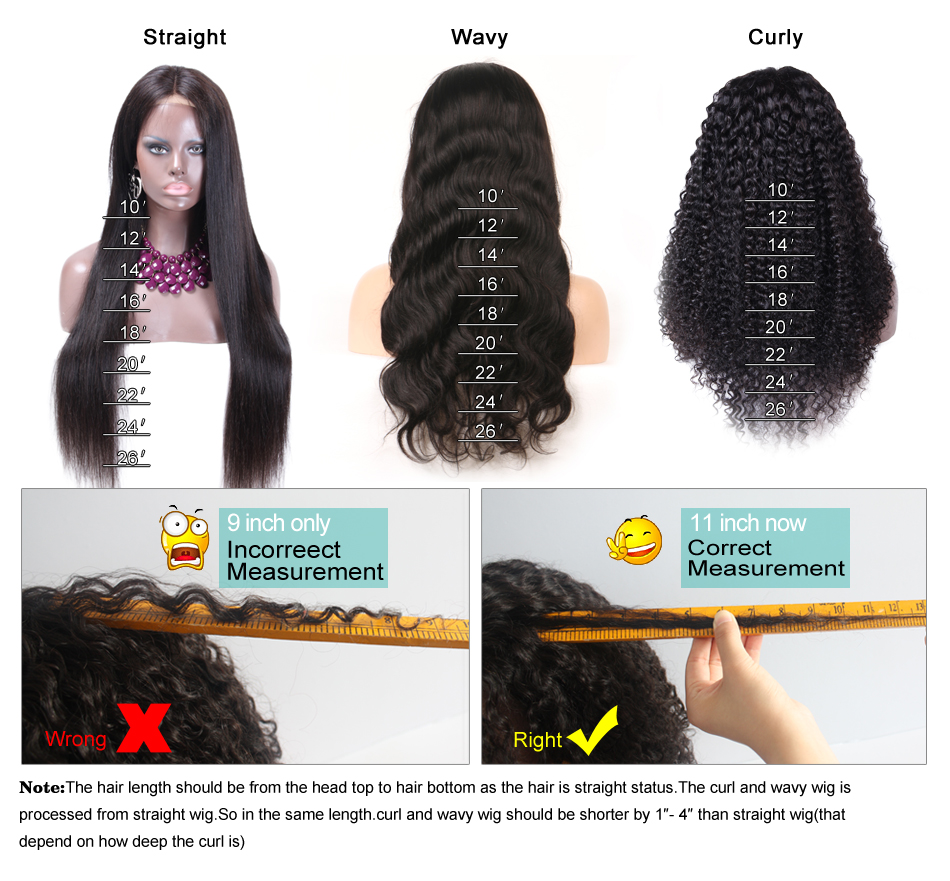 wig with baby hair