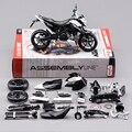 KTM 690 DUKE 3 Motocicleta Modelo Kits de Construção 1/12 Brinquedo de Montagem caçoa o presente mini moto diy modelos diecast toy para o presente coleção