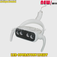 Shadowless Operation Dental LED Lamp Oral Light for Dental Unit With Sensor Manual Switch