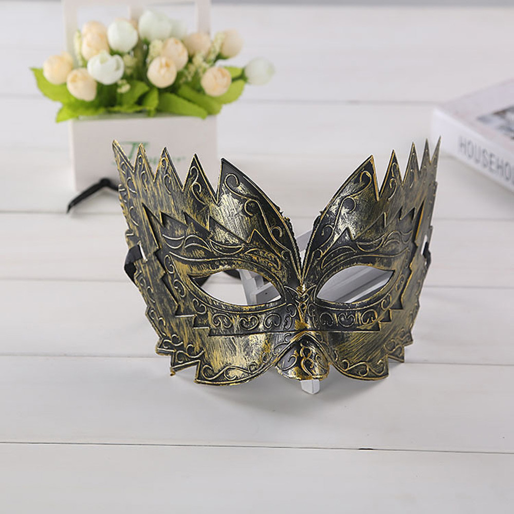 Masquerade Mask Halloween Cutout Prom Party Mask Accessories masquerade masks halloween party mask