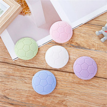 1pc Colorful Rubber Silencer Door Handle Crash Pad Soccer Basketball Volleyball Shape Bumper Buffer Guard Stopper Wall Protector