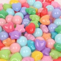 50 шт. Красочные Star Love мячей мягкие Пластик воды в бассейне океана мяч стресс воздушный шарик спорта на открытом воздухе игрушки для для дете...