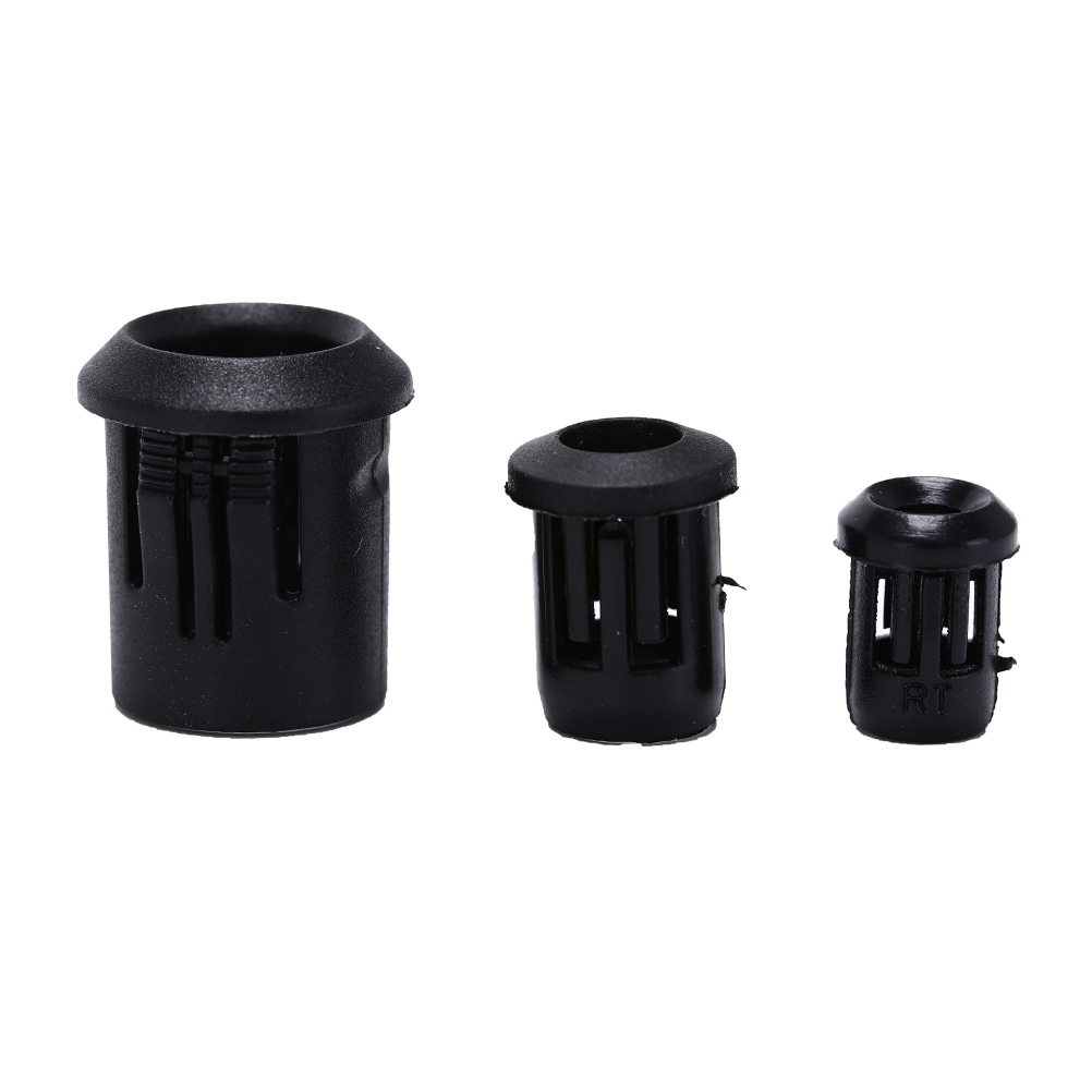 10pcs Black Plastic 3mm/5mm/8mm Lamp LED Diode Holder Black Clip Bezel Socket Mount
