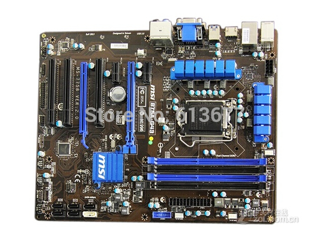 Free shipping 100% original motherboard for MSI B75A-G43 LGA 1155 DDR3 RAM 32G Motherboard Desktop Boards стоимость