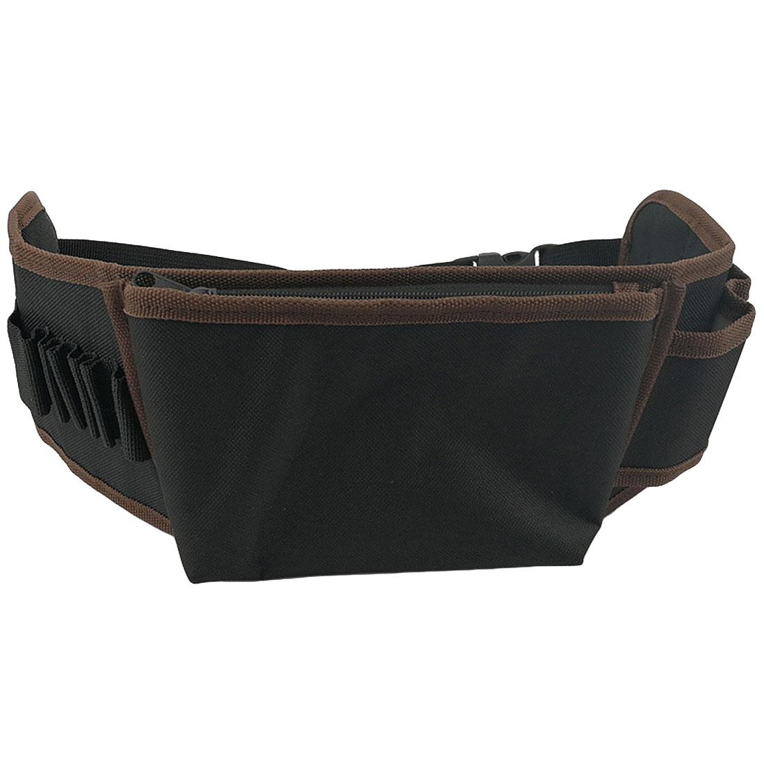 Carpenter Tool Bag Electrician Tool Bag Screwdriver Utility Kit Holder Waist Pocket Tool Belt Pouch Bag Drill Hammer Storage