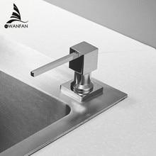 Deck Montiert Küche Seife Spender Platz Pump Chrom Fertigen Seife Spender für Küche Gebaut in Zähler top Dispenser 2306