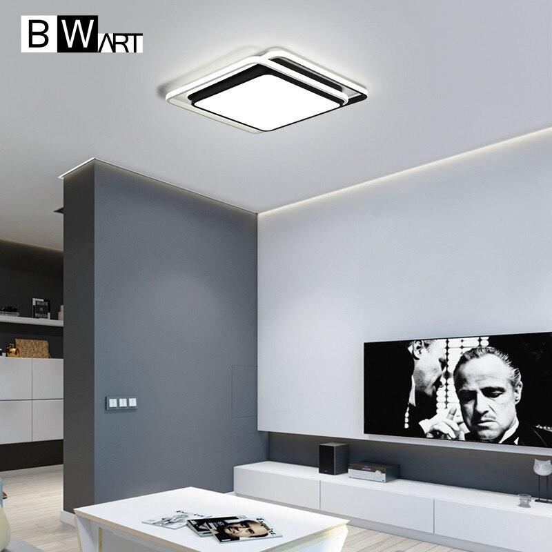 BWART Modern LED Ceiling Lights For Living Children Room Bedroom Creative design Indoor lighting Remote Ceiling