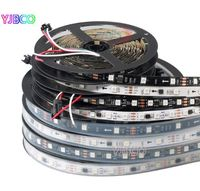 1000 meters of White PCB SM5050 Ws2811 IP30 12vDC LED strips 60LED/ meter with one WS2811 chip per 3 LED's