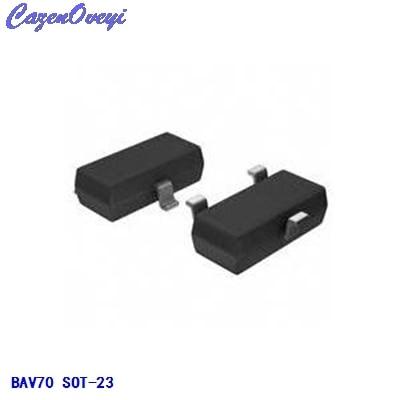 50pcs/lot BAV70LT1G BAV70 SOT-23 0.2A 70V New Original