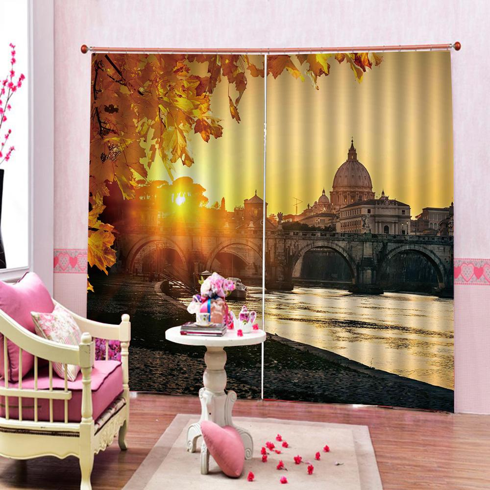 customize home windows living room curtains City sunrise modern curtains for bedroomcustomize home windows living room curtains City sunrise modern curtains for bedroom