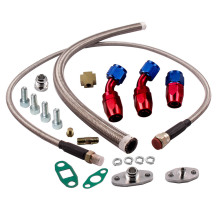 T3 T4 T60 T61 T70 T04E Oil Feed Line 1M + Turbo Oil Drain