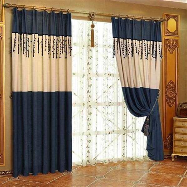 Como fazer cortina em casa cortina feita com fuxicos e - Hacer cortinas en casa ...