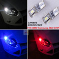 2x SEM erros T10 W5W 194 168 Luzes Apuramento Estacionamento marcador Lâmpadas LED Lâmpada Para Peugeot 206 207 806 807 4007