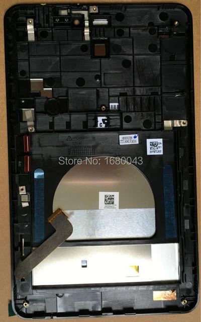 Para asus fonepad 7 me175 me175cg k00z tablet lcd led Pantalla táctil de Cristal Digitalizador Asamblea con Marco NEGRO 5472L FPC-1 Rev: 2