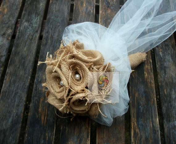 Свадебный букет невесты ручной работы
