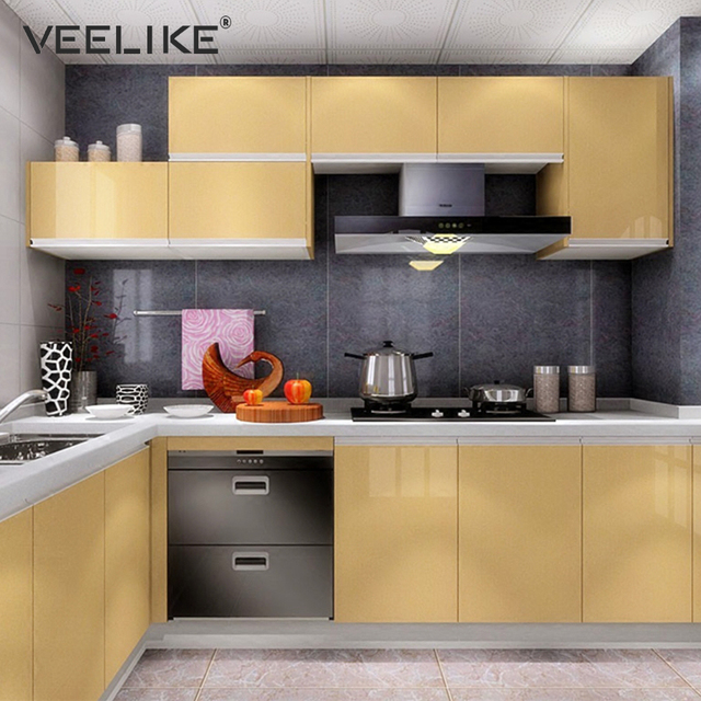 Furniture Kitchen Cabinets Cover Contact Paper Vinyl ...