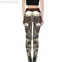 Sexy Skinny Legging Women Robot Digital Printing Neue Mode Long Pant Hot Sale Ladies Casual Styles