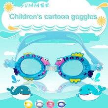 Регулируемая мультфильм детей Водонепроницаемый Анти-туман Плавание носить очки плавание, дайвинг водные очки Плавание ming очки Для женщин Для мужчин
