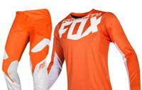 Новый 2019 озорной лиса MX 360 Кила оранжевый трикотаж брюки для девочек взрослых мотокроссу шестерни Комплект Combo ATV Байк Off Road
