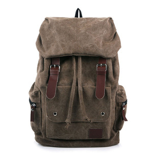 Image 1 - حقيبة ظهر رجالية على الموضة حقيبة كتف حقيبة ظهر مدرسية حقيبة سفر