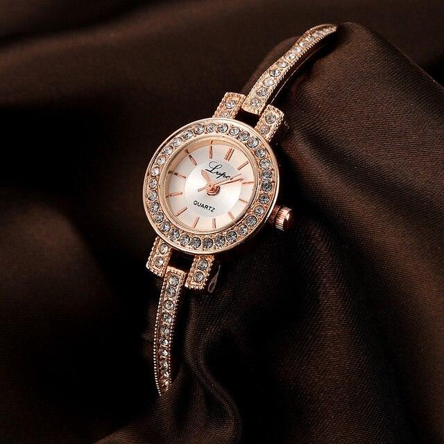 Watches women fashion watch 2018 luxury brand Quartz Watch lady Mesh Stainless S