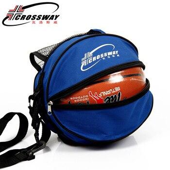 Универсальная спортивная сумка для баскетбола, рюкзак для волейбола, регулируемый плечевой ремень круглой формы, для хранения