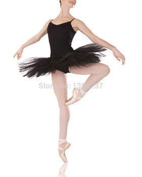 Professional Ballet Tutu 2018New Summer Hard Organdy Platter Skirt 6 Color Dance Skirt Swan Lake Group Ballet Costume Tutu