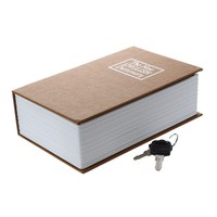 AIMA New Dictionary Book Secret Hidden Safe Key Lock Cash Money Jewellery Locker Box Color