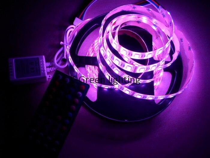 10 ensembles X en gros plus récent RGBW 4 couleurs dans une puce 24 V LED bande + 40key RGBW LED de contrôle livraison gratuite express - 3