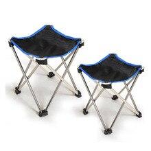 Meble ogrodowe lekkie wędkarskie leżaki plażowe składane krzesło Camping przenośne małe krzesło ze stopu aluminium