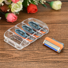 2018 NEW 4pcs/lot 5 Layer Blades Shaving Razor Blades for Men Gilet Power Shaver Blades Beauty Proglide Shaving Blades