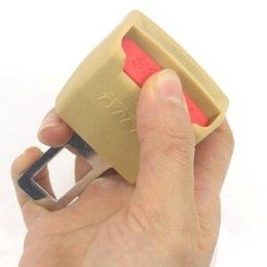Image 4 - ONEWELL Universal clip para cinturón de seguridad de coche Extender cinturones de seguridad macho grueso inserto hembra negro/Beige